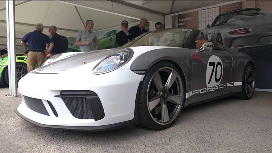 Watch Porsche Extensively Detail The 911 Speedster Concept