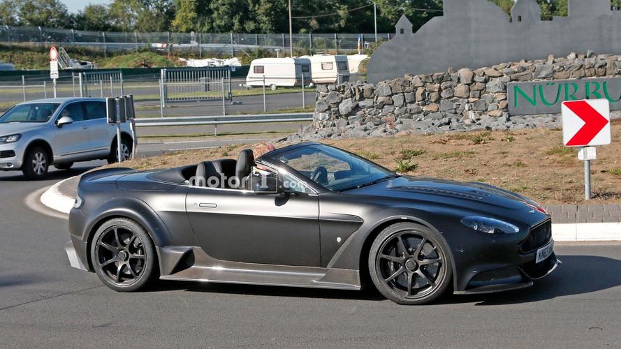 Aston Martin Vantage GT12 Roadster, kameralara üstü açık yakalandı