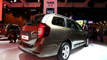 Dacia Logan MCV Paris Motor Show