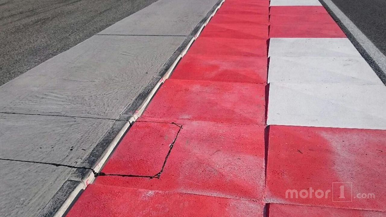 Track limits electronic detection system