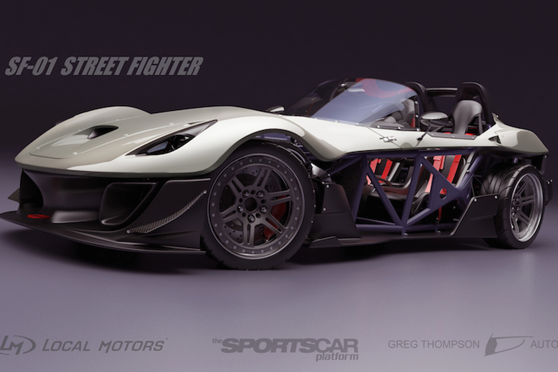 Local Motors' New Sportscar is Crowd-Sourced and has the Best Name