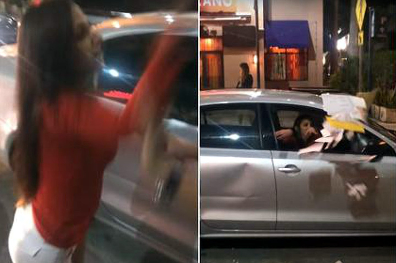 Watch a Young Doctor Lose Her Mind on an Innocent Miami Uber Driver