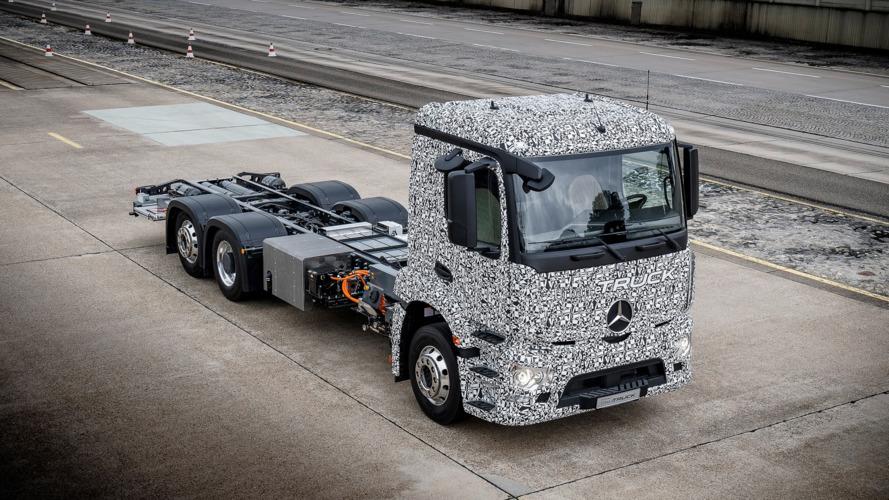 Mercedes-Benz Urban eTruck ilk, tamamen elektrikli kamyon olacak