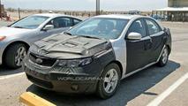 Kia Forte/Spectra Sedan Spy Photos