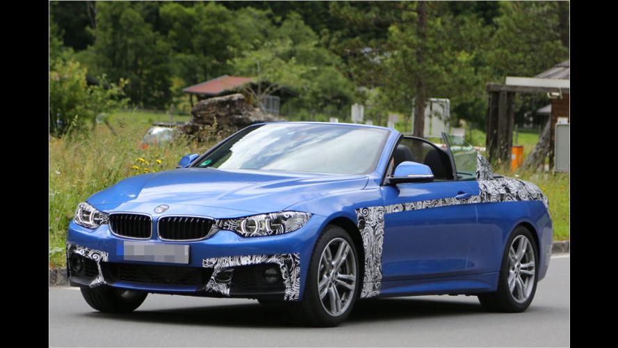 BMW 4er: Nun wird das Cabrio entblättert