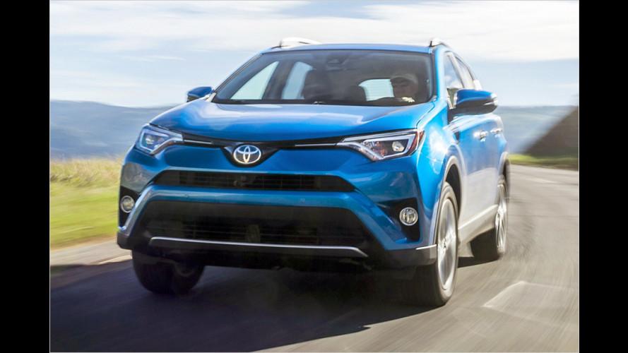 Toyota RAV4: Jetzt mit Hybrid