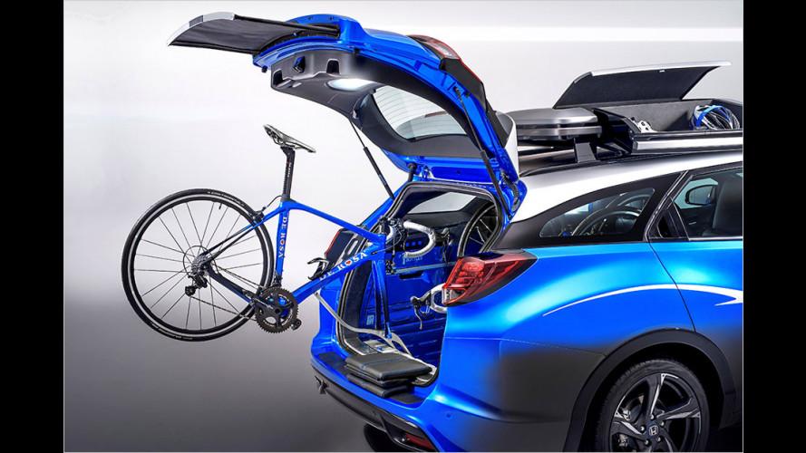Honda Active Life Concept auf Basis des Civic Tourer