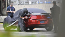 Fisker Nina plug-in hybrid spy photo