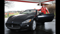 Una Maserati GranCabrio a Fernando Alonso