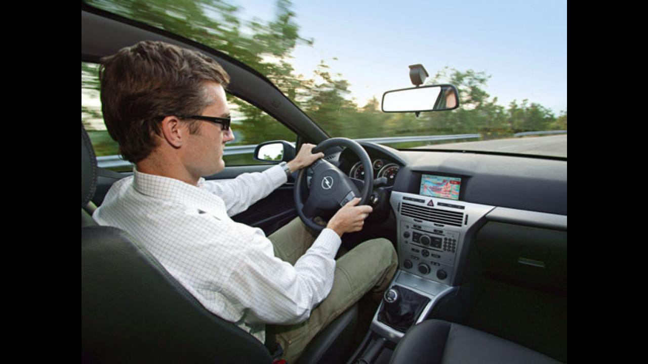 Astra GTC con parabrezza tipo Panorama