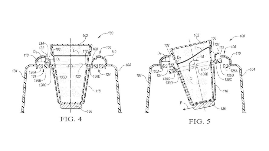 Ford Patents Self-Leveling Cup Holder For Those Spirited Commutes