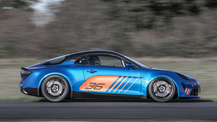 Alpine is reviving its 1980s race series for the new A110