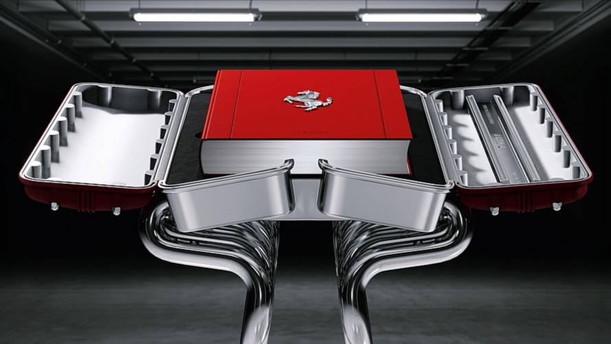 Así es el último libro oficial de Ferrari... por 25.000 euros