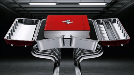 Ferrari book costs £22,250 but comes with epic stand
