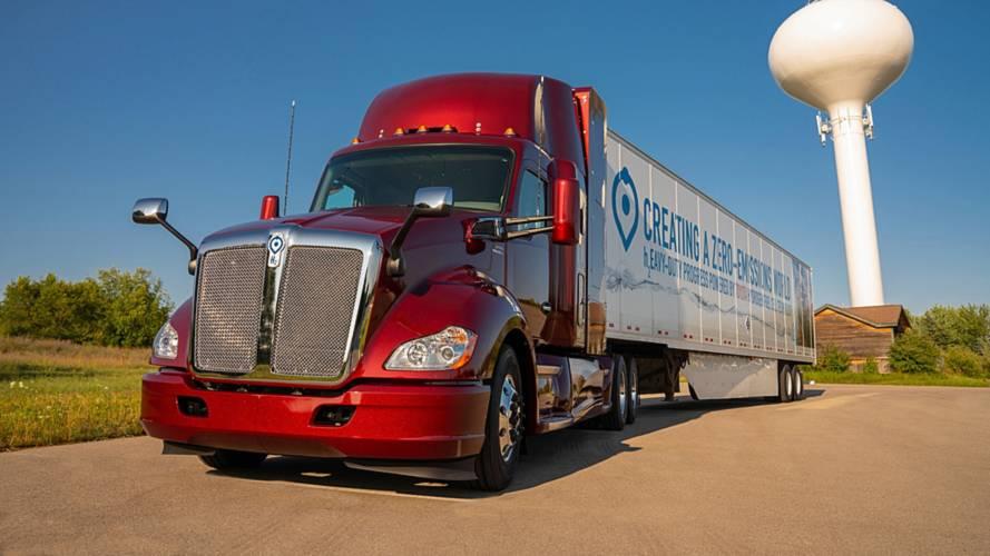 Toyota présente son nouveau camion à hydrogène