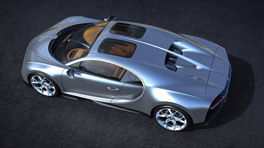 Bugatti Chiron, il tetto Sky View