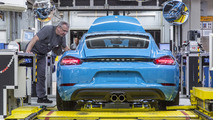 Porsche 718 Cayman production