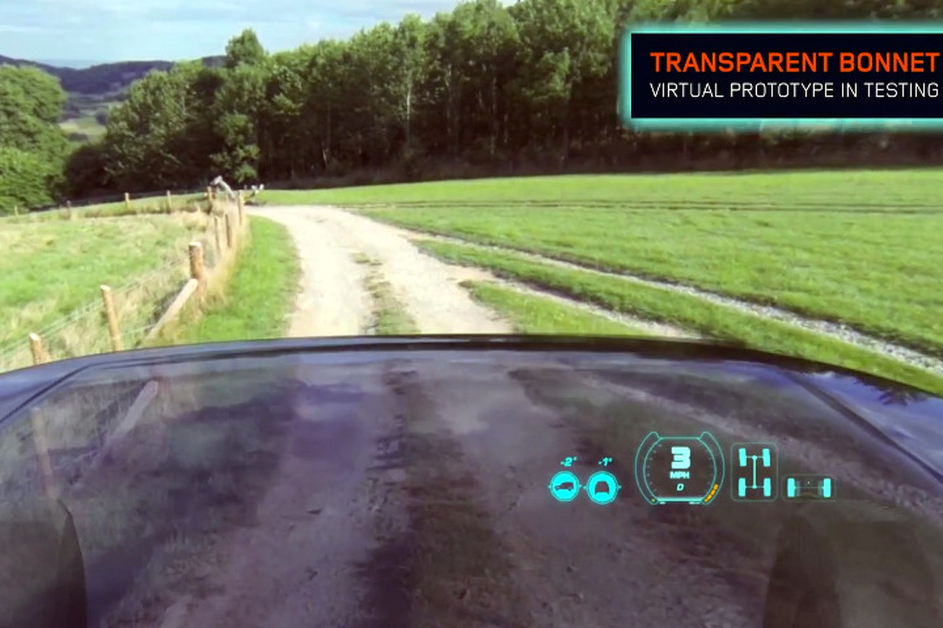 Land Rover Concept Makes Front of Car Invisible [w/video]