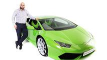 Lamborghini Huracan performs taxi duties in U.K.