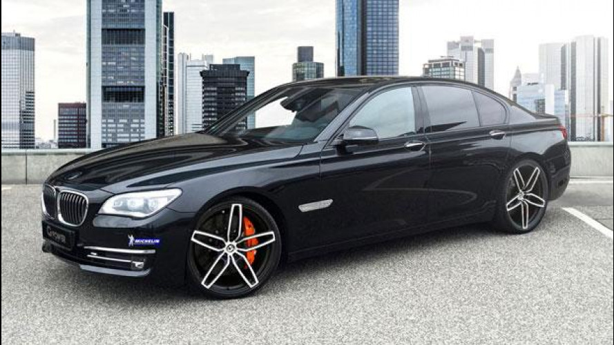 BMW 760i, se G-Power ci mette le mani...