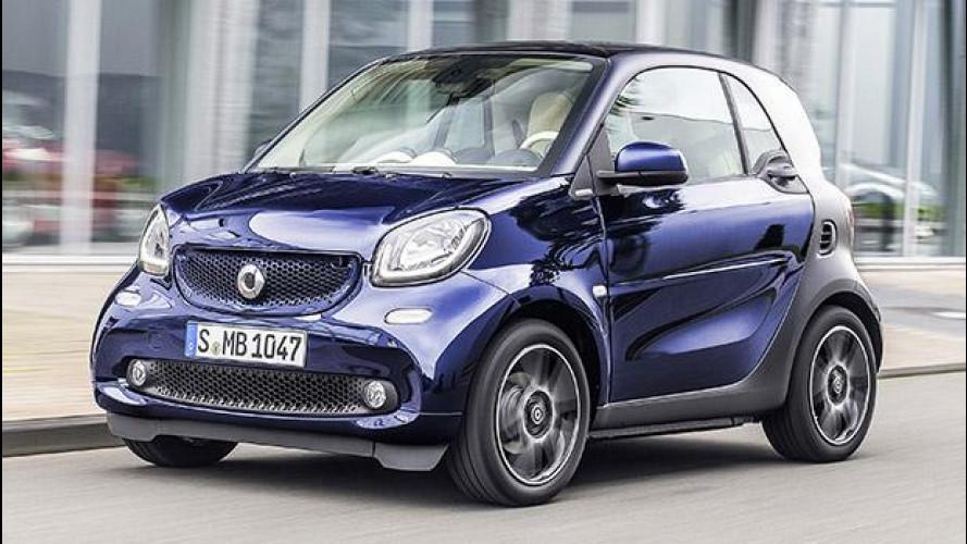 Nuova smart elettrica, il motore sarà Renault