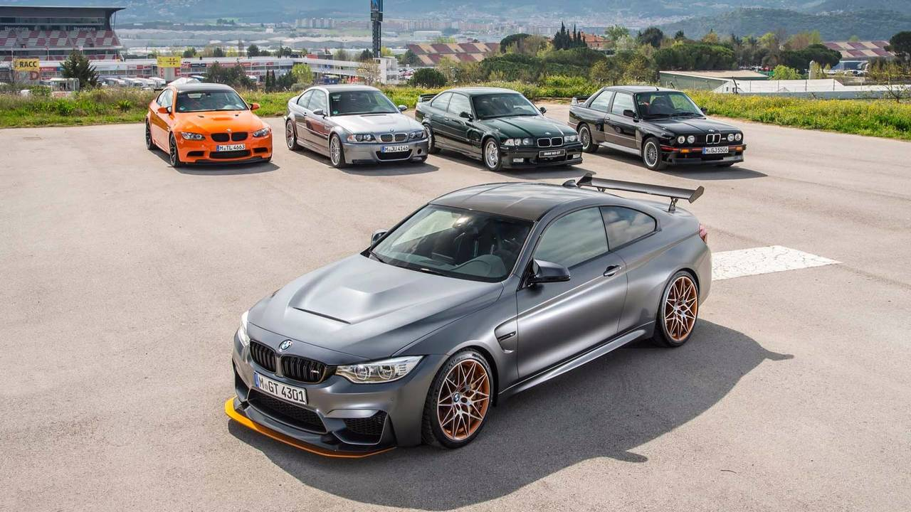 BMW M3 lineup