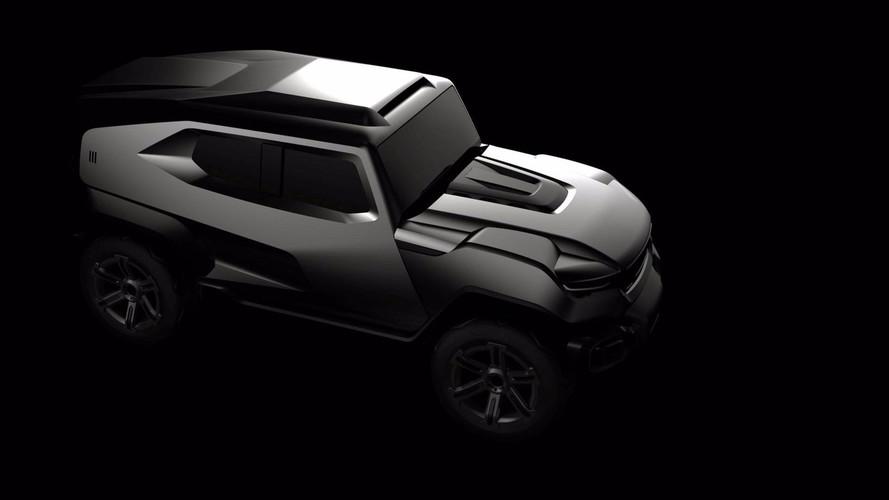 Rezvani prépare un SUV totalement extravagant