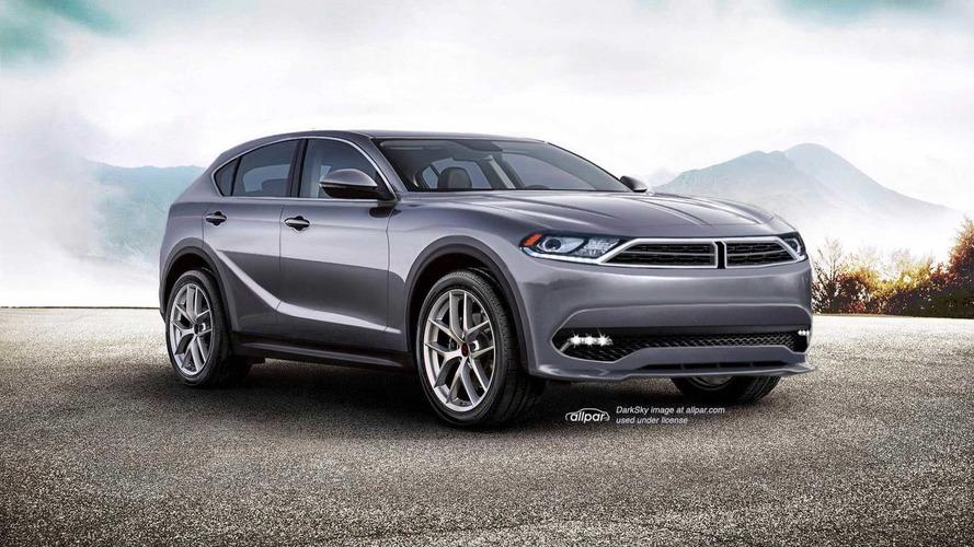 Dodge Journey'ye Stelvio'yu temel alan tasarım yorumu