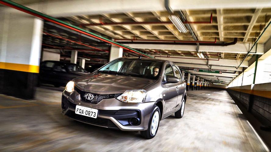 Toyota Etios 2019 terá novidades no visual e ESP de série