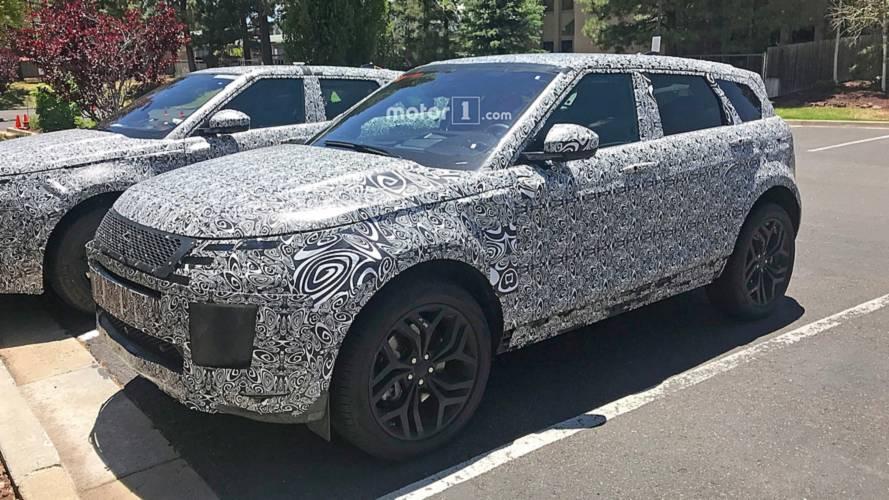 Range Rover Evoque 2019 - Flagra do interior