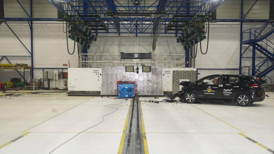 Nissan LEAF - Euro NCAP Crash Test 2018