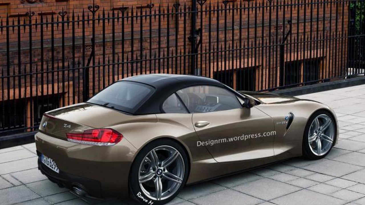2017 2018 Bmw Z4 Roadster Imagined Motor1 Com Photos