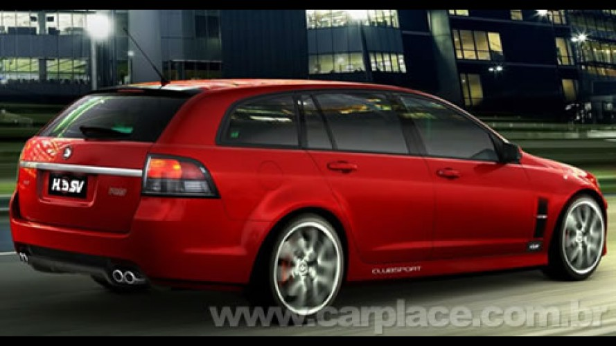 HSV Clubsport R8 Tourer - Nova Station Wagon do Omega tem motor de 425 cv!!