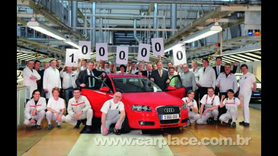 Audi comemora marca de 1 milhão de A3 Sportback produzidos