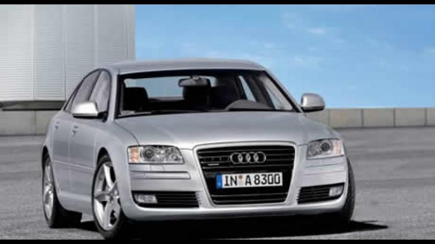 Novo Audi A8 reestilizado e com novo motor 2.8 FSI