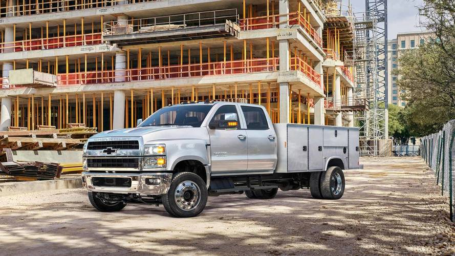 Chevy Debuts Gigantic Silverados At The Work Truck Show