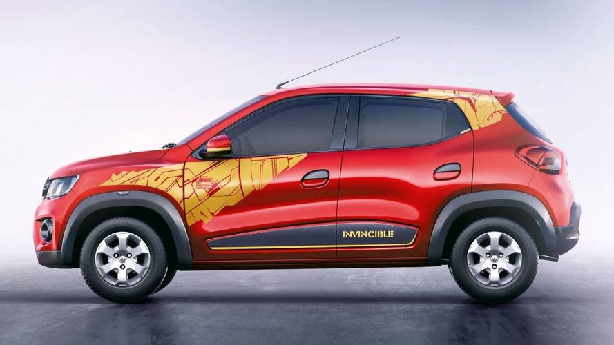 Renault Debuts Iron Man And Captain America Cars In India