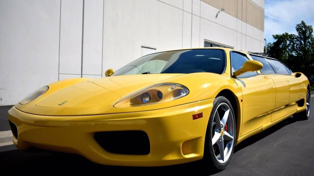 Ferrari 360 Modena limo