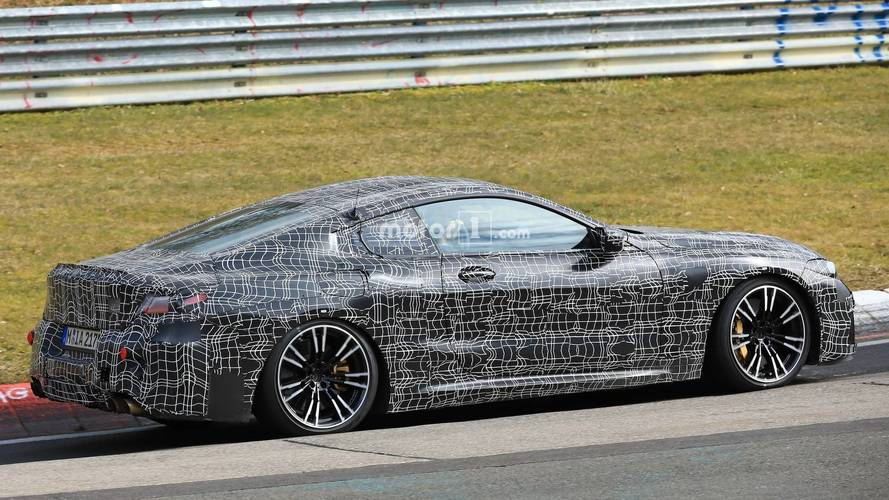 Watch and listen while the BMW M8 tackles the Nurburgring