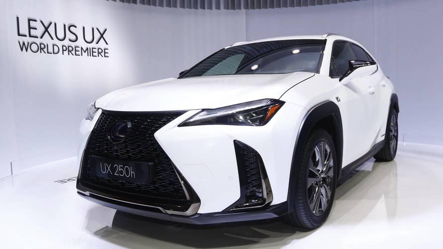 UX 2018 y RC 300h F Sport Black Edition, estrellas de Lexus en Ginebra