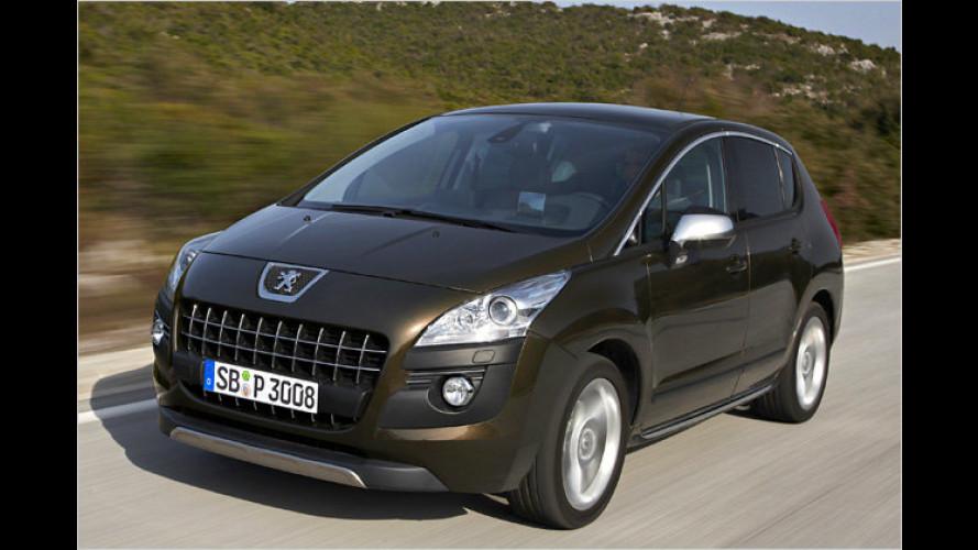 Peugeot 3008: Serienmäßig bessere Ausstattung und Euro 5