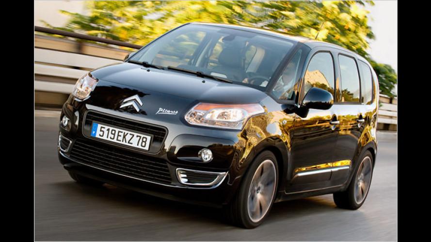 Preise und Ausstattungen für Citroën C3 Picasso stehen fest