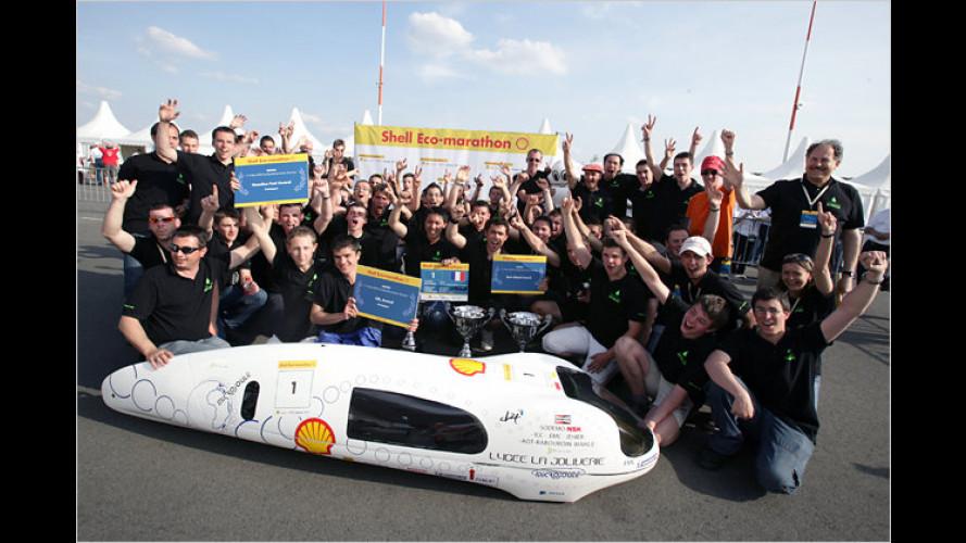 Shell Eco-marathon: Der Kampf um den letzten Tropfen Sprit