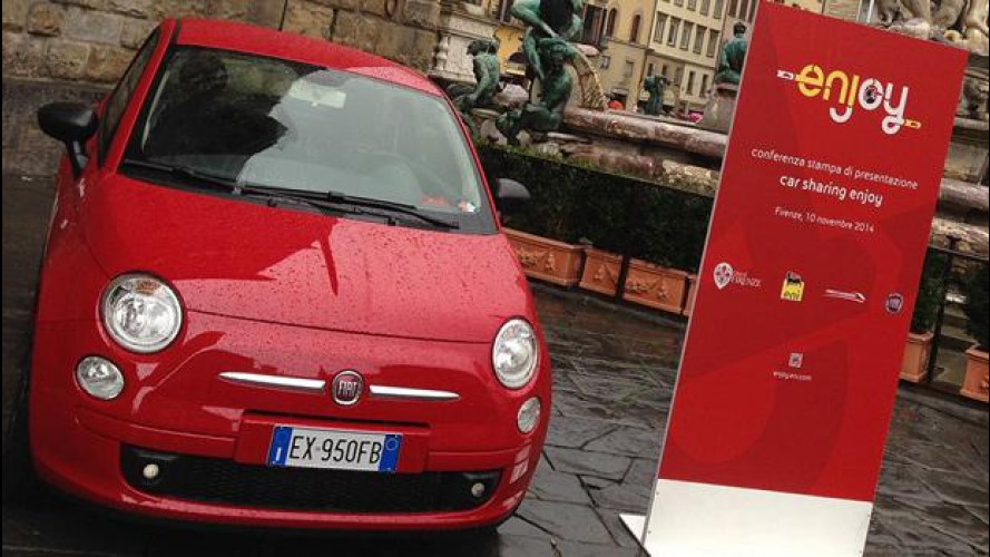 Car sharing, Enjoy è approdato a Firenze