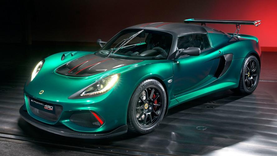 Lotus Exige Cup 430, tanta potenza e poco peso