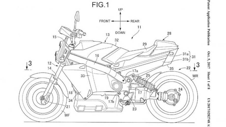 Honda, yakıt pilli motosiklet patenti aldı
