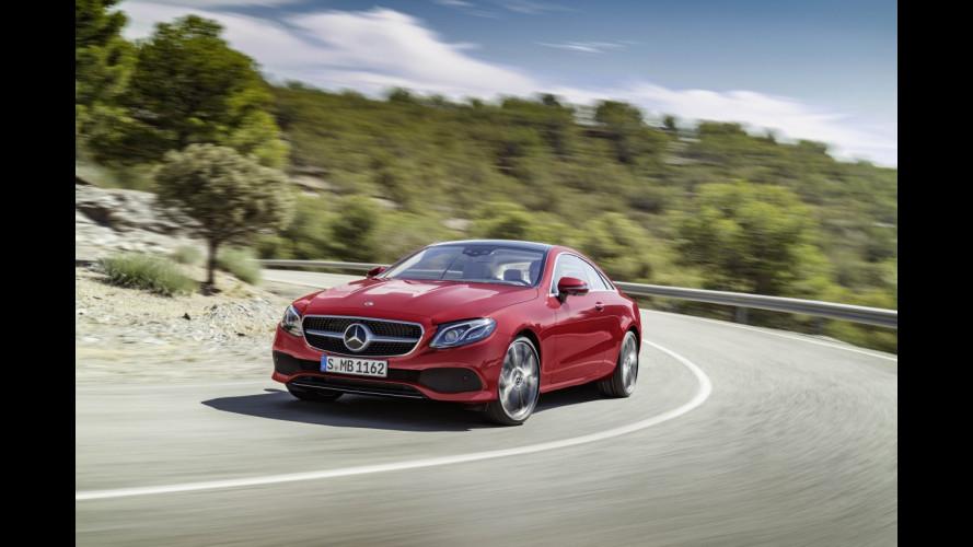 """Mercedes Classe E, il """"mini"""" ibrido a 48V"""