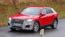 Audi SQ2 spy photo