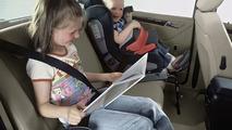 Mercedes child seat: Integralchild & DUO models
