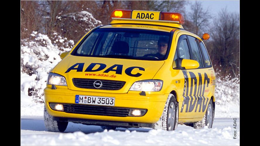 ADAC: Weit über vier Millionen Pannenhilfen im Jahr 2010